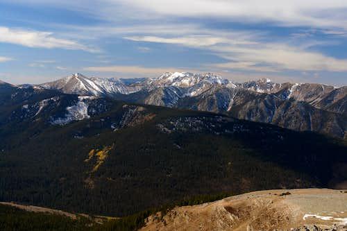 Truchas Peaks from Jicarita Peak