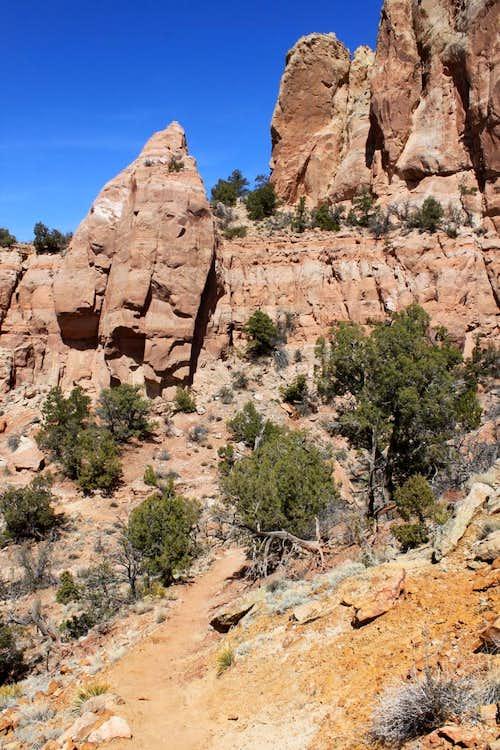 East Rock Creek trail