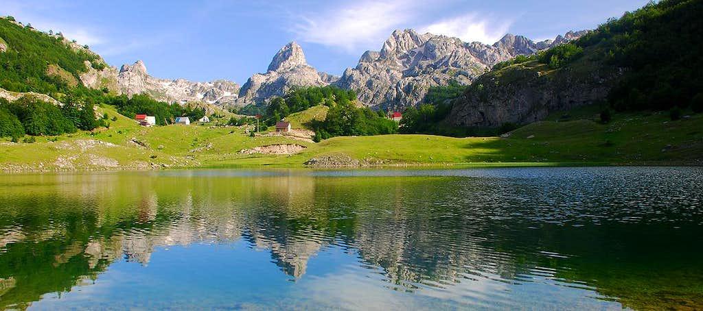 Žijovo massif from Bukumirsko Jezero lake