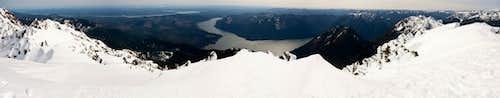 Mt Ellinor Summit Panaroma