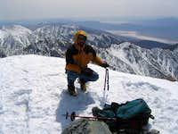 Telescope Peak Summit