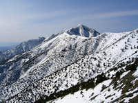 North Ridge of Panamints to Telescope Peak 3/25/10