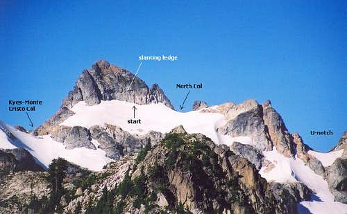 The East Face of Monte Cristo...