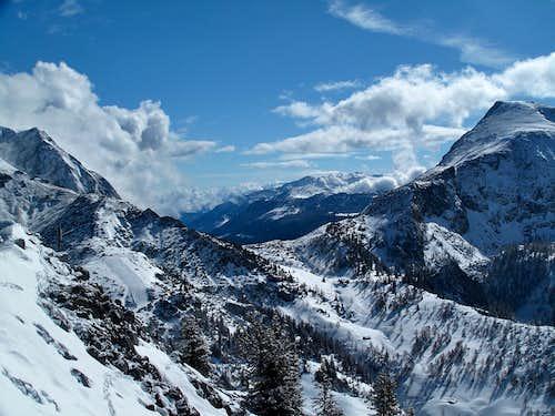 Torrener Joch, 1774m and Schneibstein, 2276m