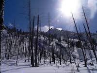 Grandjean Peak north face