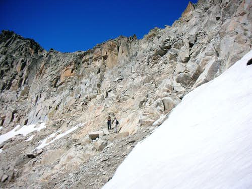Some scrambling to reach Coll de Mulleres