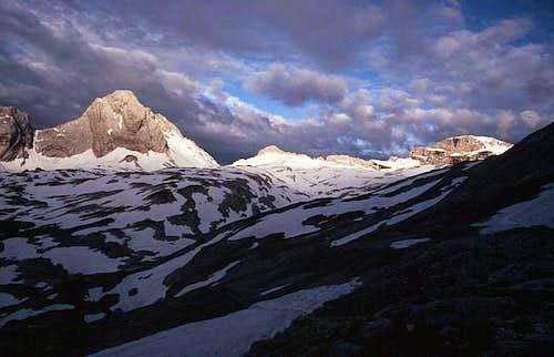 Zugspitzplatt and Plattspitze...