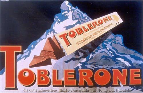 The Matterhorn chocolate