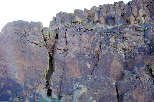 Gallow\'s Edge crags