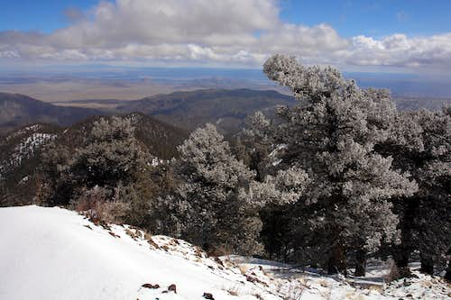 South Baldy: NE Ridge