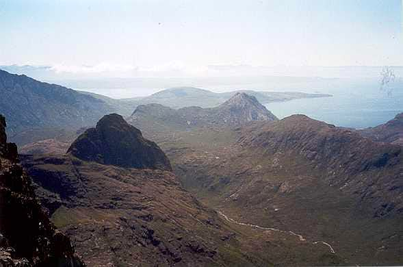 South view from Bruach na Frìthe