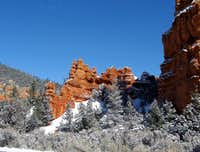 Red Canyon rock