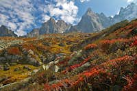 Fantastic Colors below the Aiguilles de Chamonix