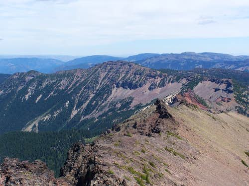 Bear Creek Mountain from Tieton Peak