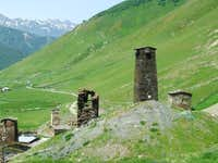 Svaneti. Ushguli village