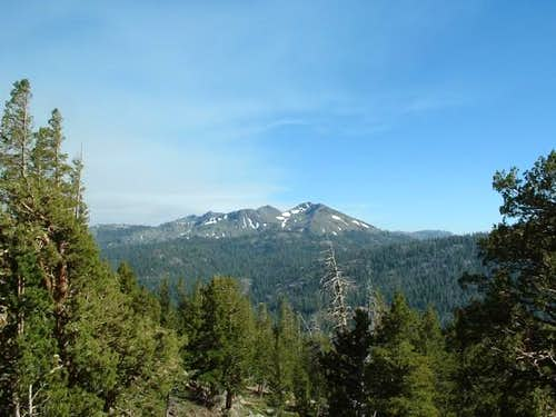 Folger Peak as seen from...
