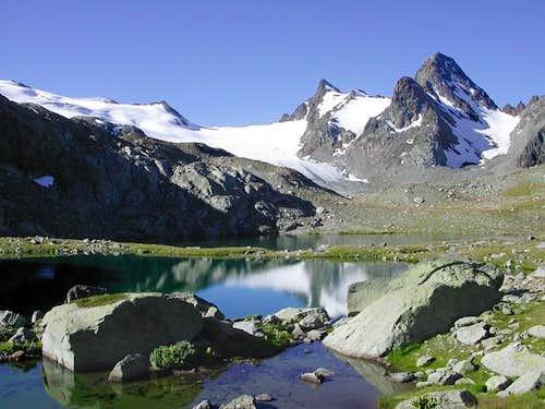 il lago Verde del Rutor (2539...