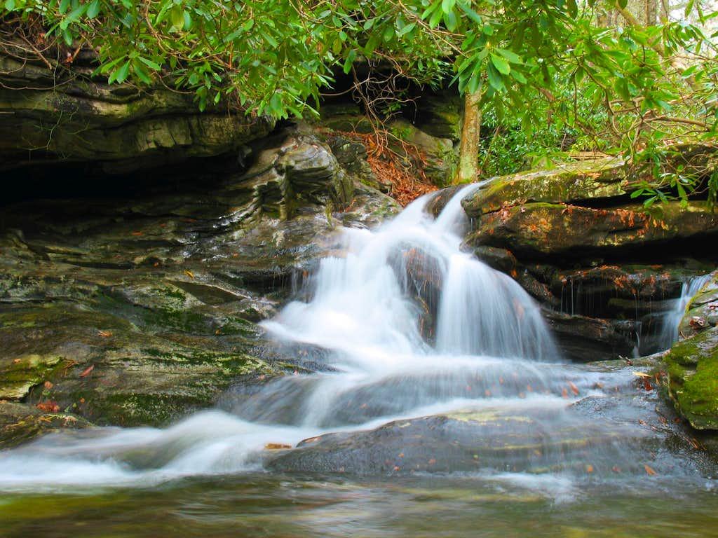 Duggers Creek, Lower Falls