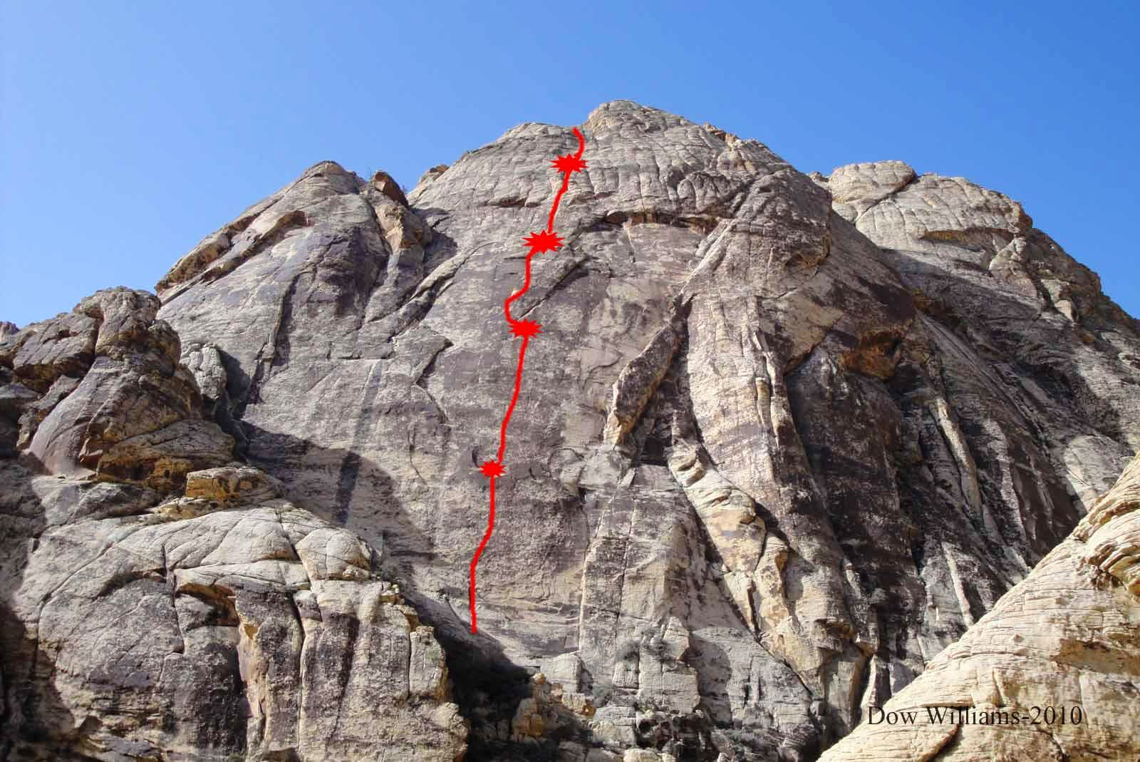 Chuckwalla 21, 5.9, 6 Pitches