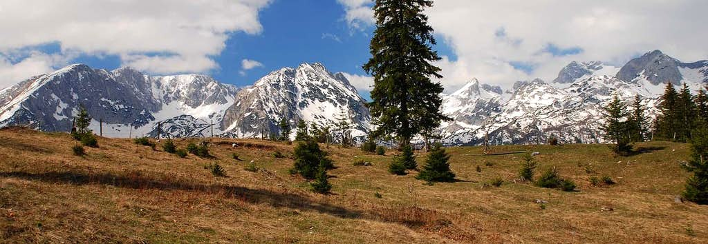 Durmitor from Pitomine