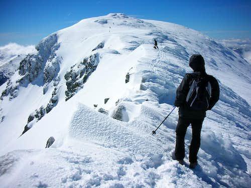 Peñalara from the Claveles ridge