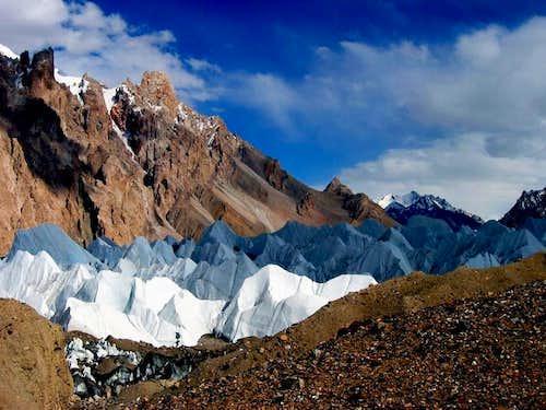 gasherbrum glacier
