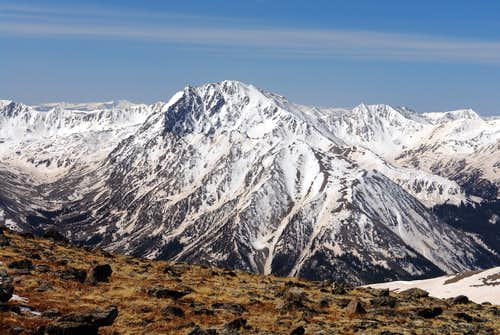 La Plata Peak from Mount Elbert