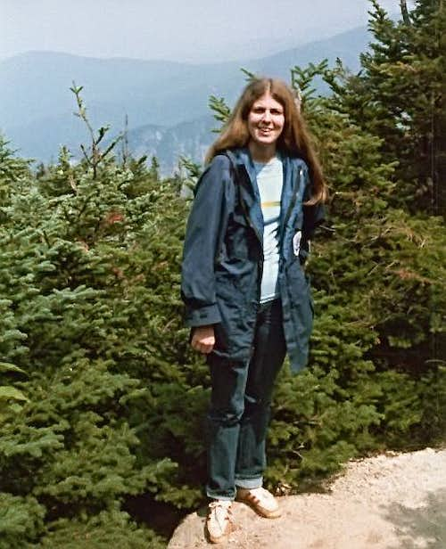 Standing on Cannon Mtn, NH 1981