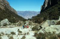 Quebrada (Valley) Ishinca. In...