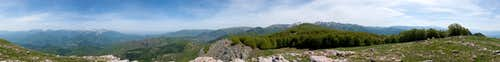 360° summit panorama