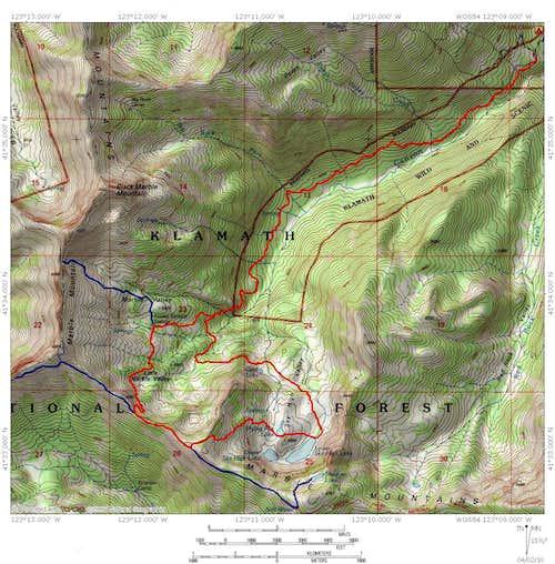 Marble Valley & Sky High Lakes Via Canyon Creek Trail