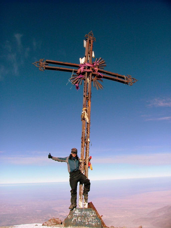 El Misti (5,822 m/19,096 ft). Peru