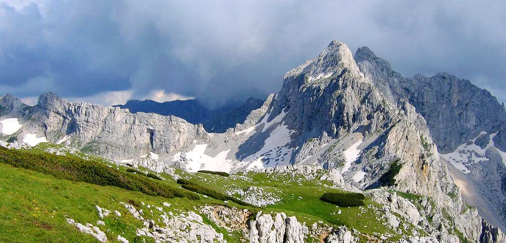 Durmitor massif from Planinica