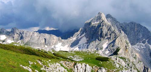 Durmitor massif from Planinica