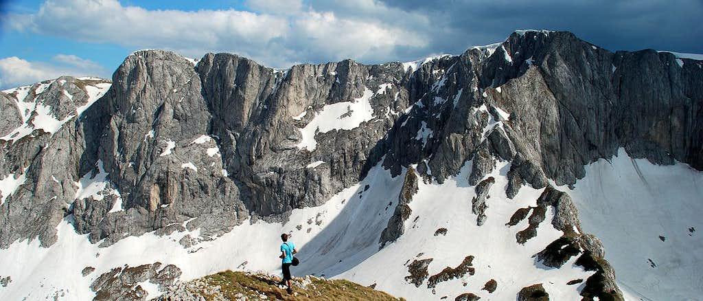 Šljeme massif from Terzin Bogaz