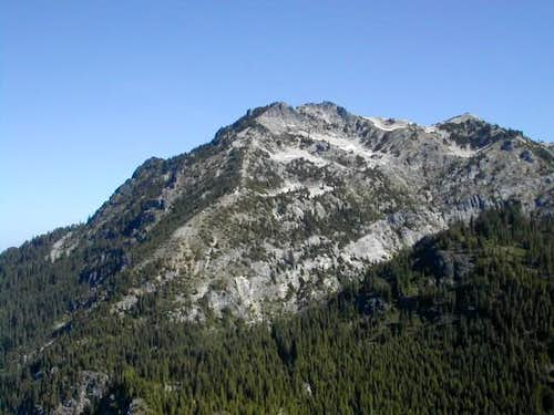 Snoqualmie Mountain from Guye...