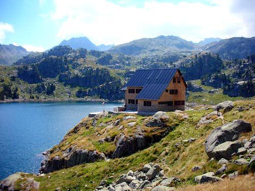 Colomers hut