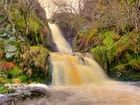 Afon Eirth - Waterfalls
