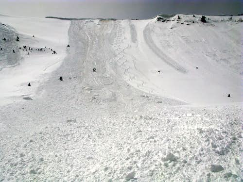 West Monitor Avalanche