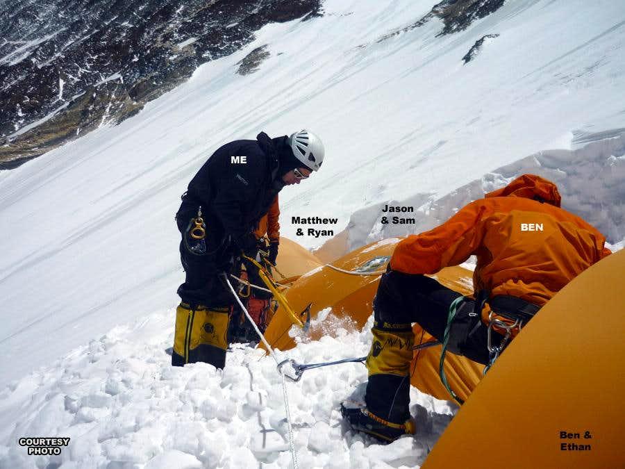 Camp3 Tent Digging