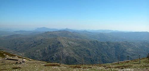 Summit view Bruncu Spina:...