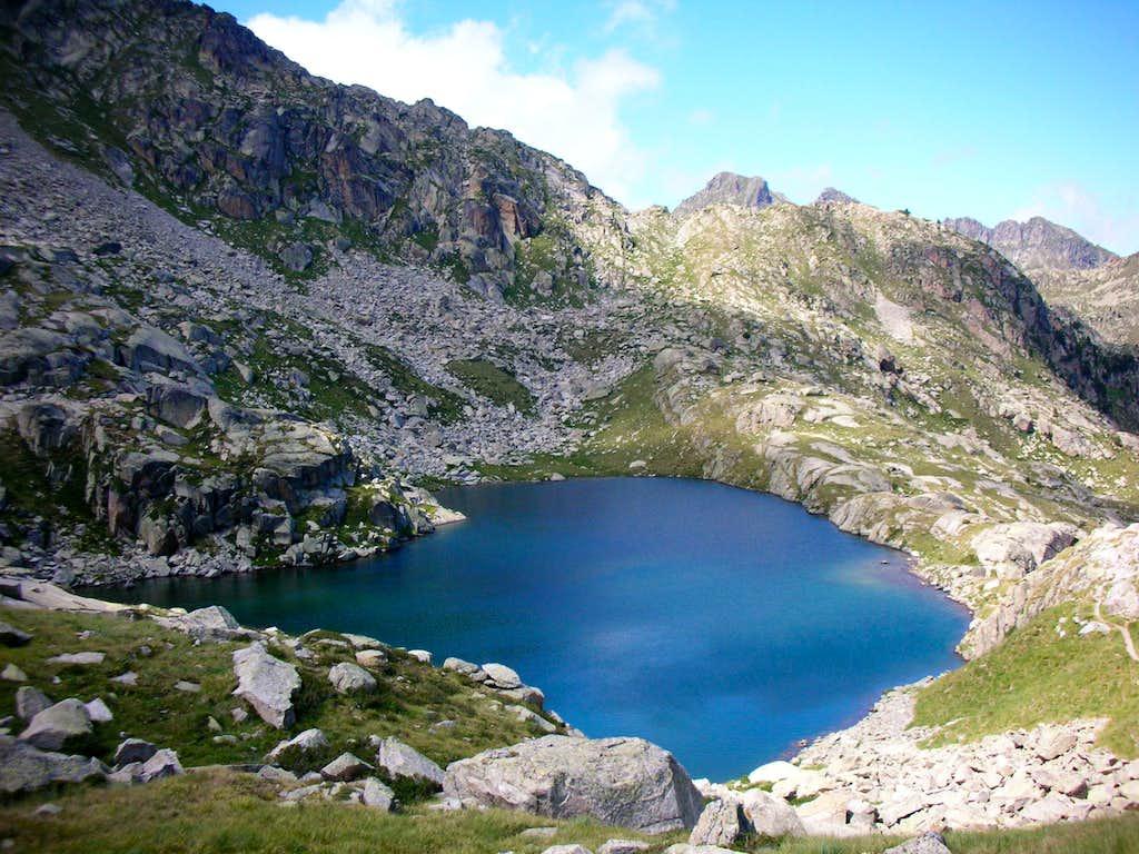 Garguilhs de Sus water pond