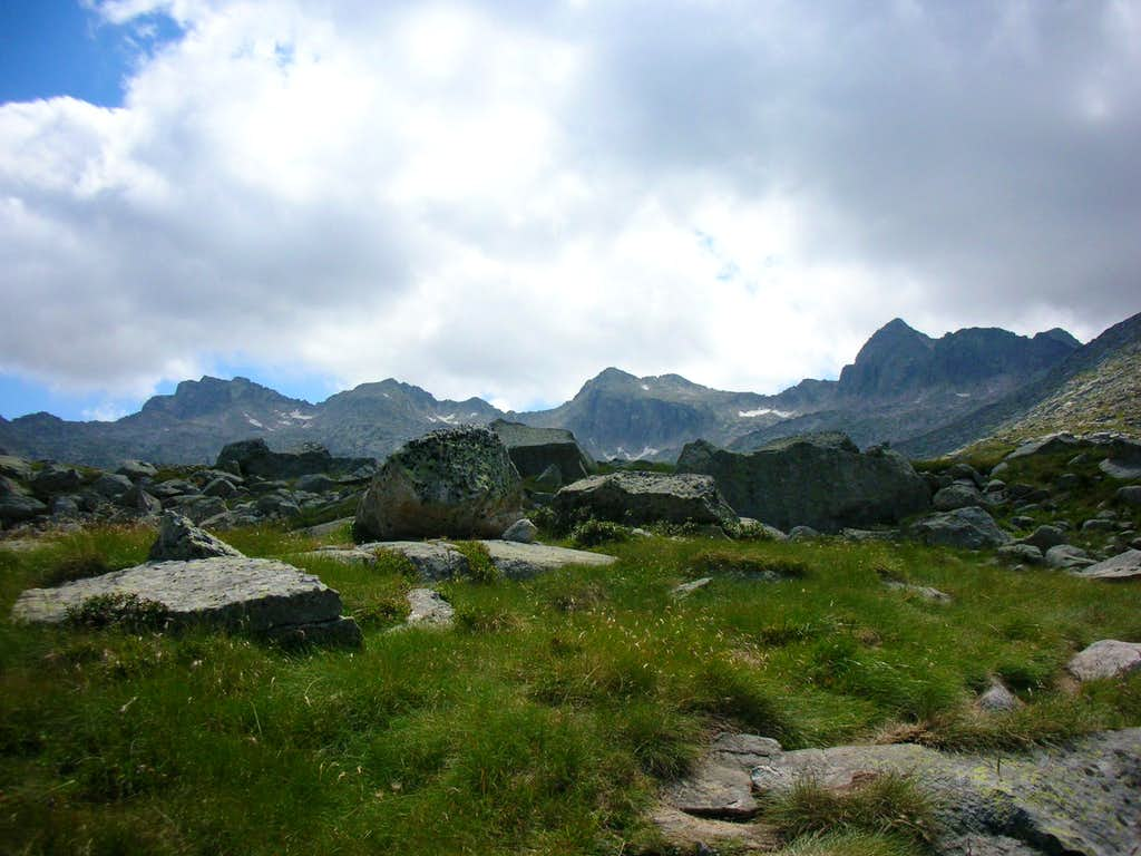 The Colomers Ridge