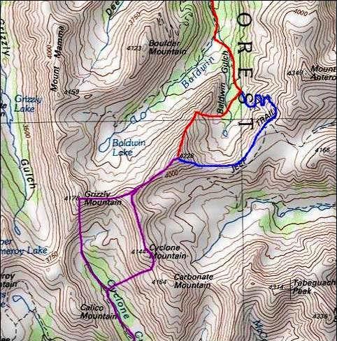 Cronin Peak (Point 4228)