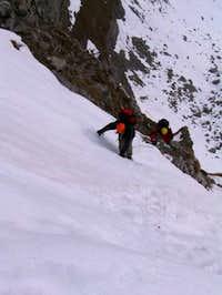 Going up Gamsaengersteig in...