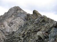 McDuffie near summit northwest slope/west ridge route