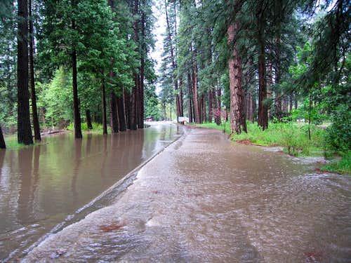 Yosemite Valley Flood