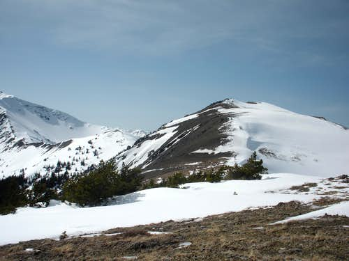 Baldy from the false summit