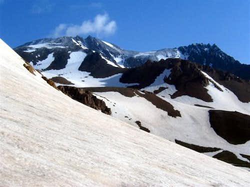 June 23, 2004,  Fresh snow...