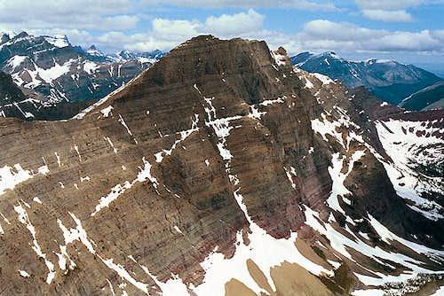 Crowfeet Mountain, from Mount...
